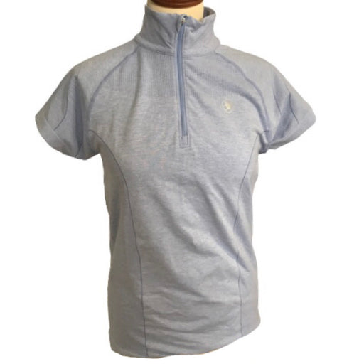 Odyssey Seamless SS 1/4 Zip Bluse - OUTLET