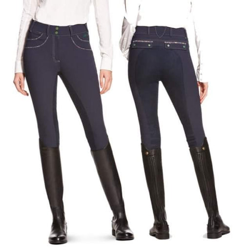 Olympia Front Zip Regular Rise Full Seat Breeches