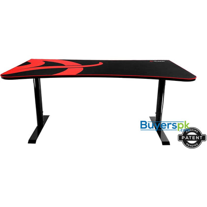 Arozzi Arena Gaming Desk - Black - gaming desk