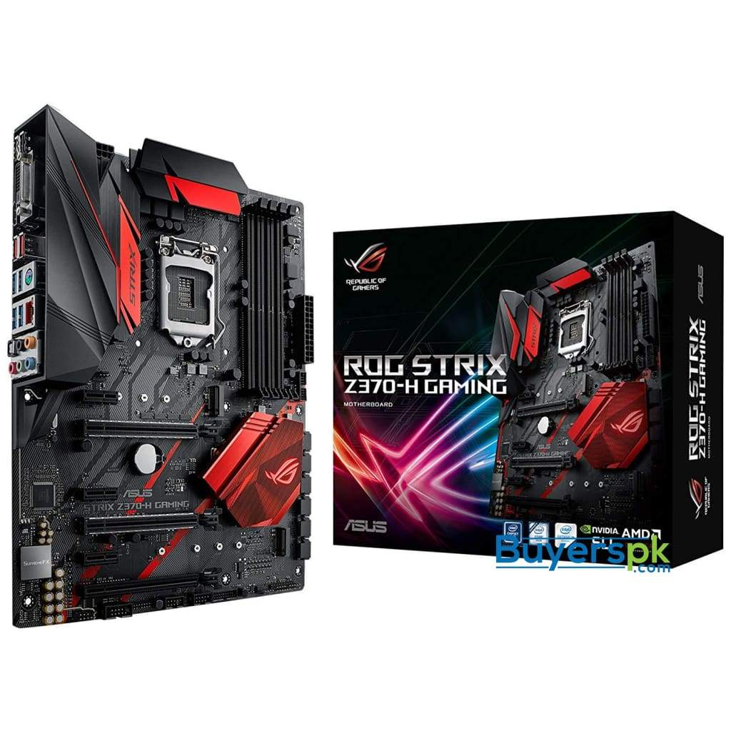Asus Motherboards Rog Strix Z370-h Gaming