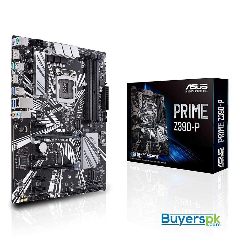 Asus Prime Z390-p Lga1151 (intel 8th and 9th Gen) Ddr4 Dp Hdmi M.2 Z390 Atx Motherboard with Usb 3.1