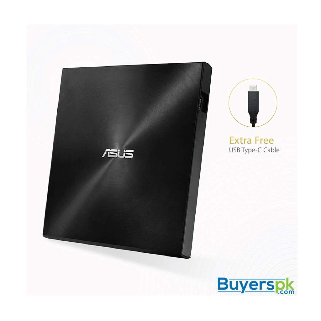 Asus Zendrive Black 13mm External 8x Dvd/burner Drive +/-rw with M-disc Support, Compatible with