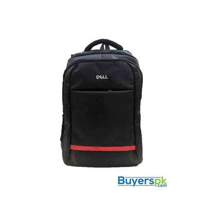 Dell Red Line Laptop Backpack 15.6 - Black - Bag