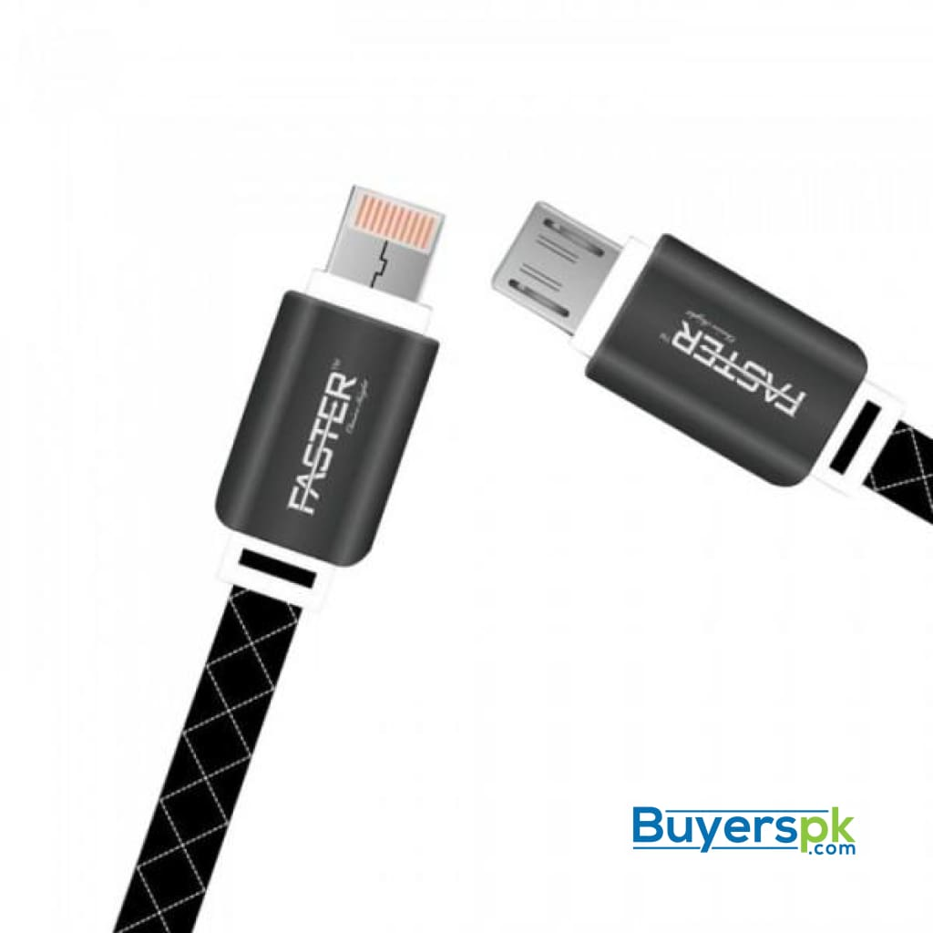 Faster Double Sided Data Cable 2 in 1 Double Cable