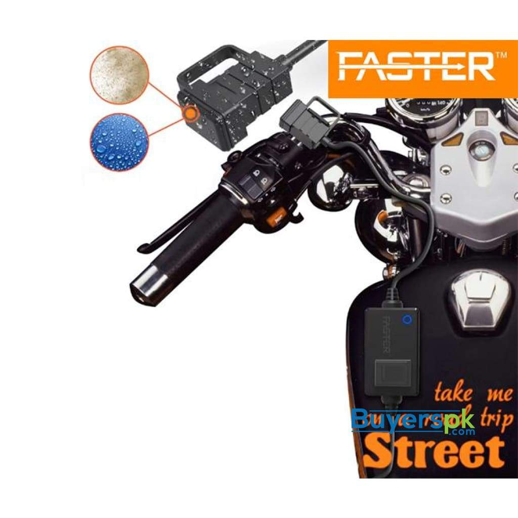 Faster Fcc-900 Motorcycle Waterproof Charger with Led Indicator
