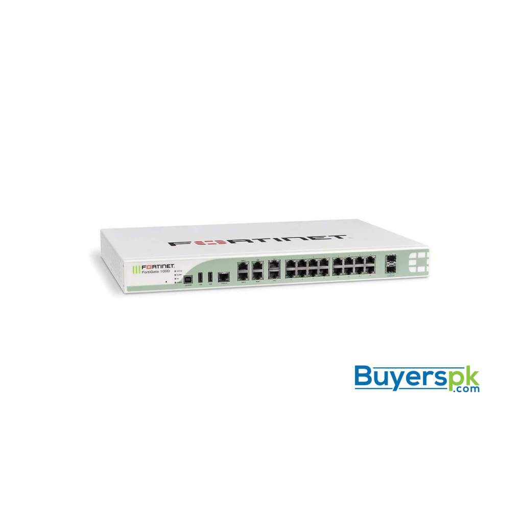 Fortinet - Fg-100d-bdl-974-60 - Fortigate-100d Hw+24x7 Forticare and Fortiguard Enterprise Bundle