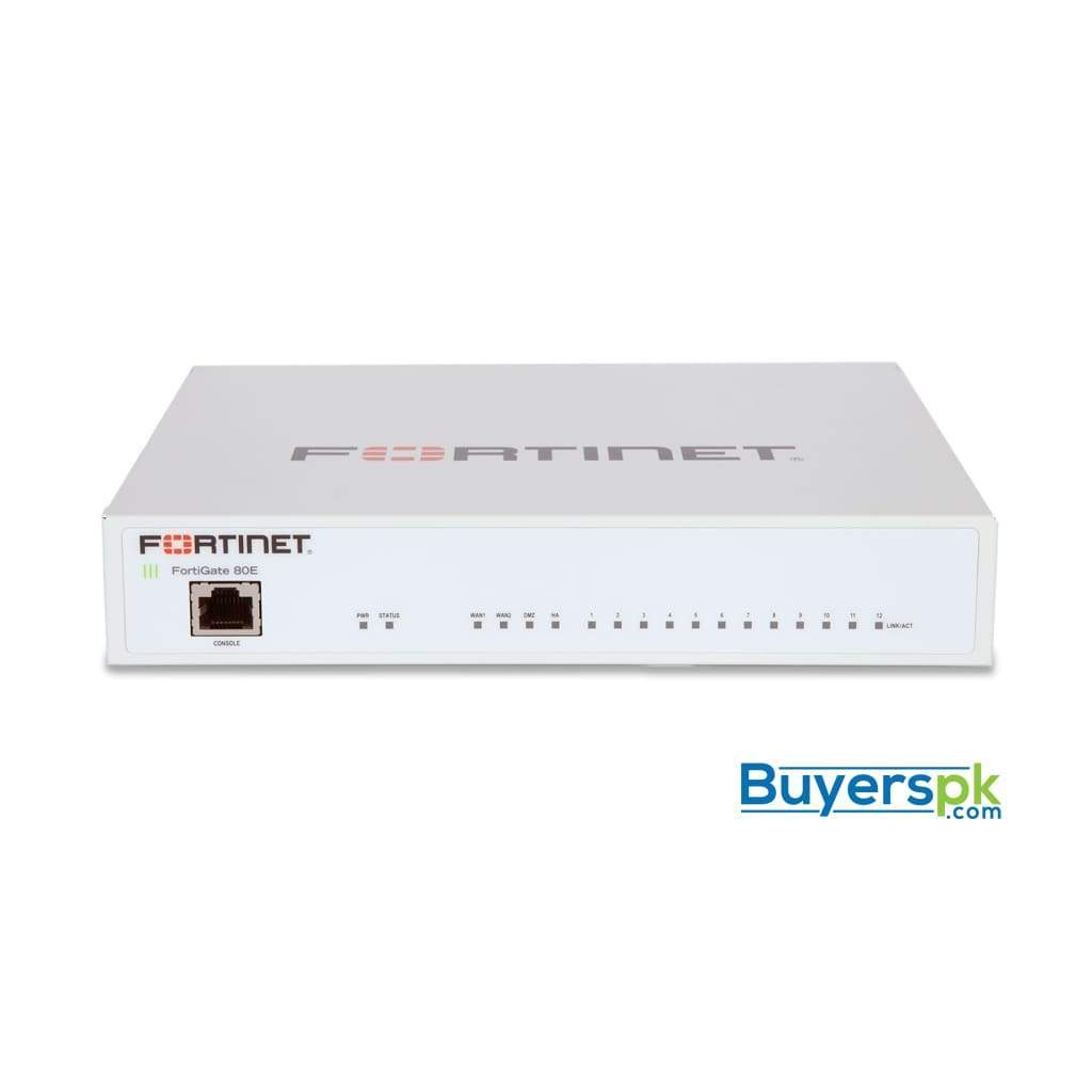 Fortinet | Fortigate-80e Hardware plus 1 Year 8x5 Forticare and Fortiguard Utm Protection 1 Year
