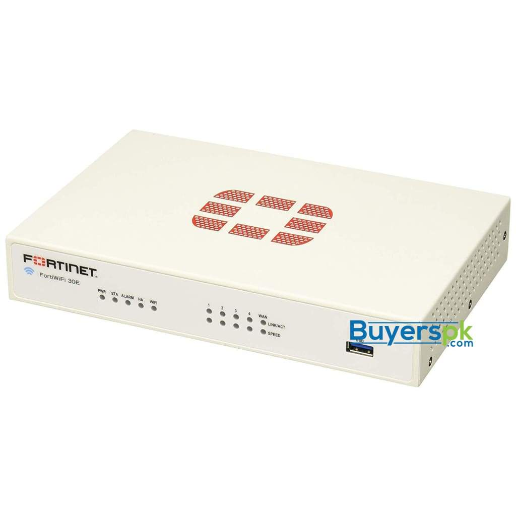 Fortinet FortiWiFi-30E Hardware Plus 8x5 FortiCare and FortiGuard UTM  Protection 3 Year License