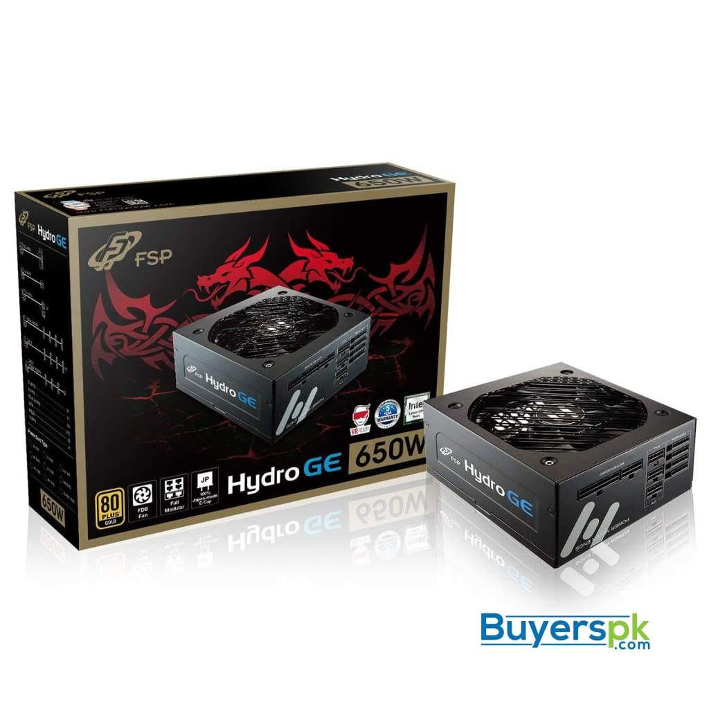 Fsp Powersupply Hydro Ge 650w (80 plus Gold)