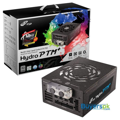 FSP PowerSupply HYDRO PTM+ 1200W (80 PLUSPlatinum) Liquid Cooling - Power Supply