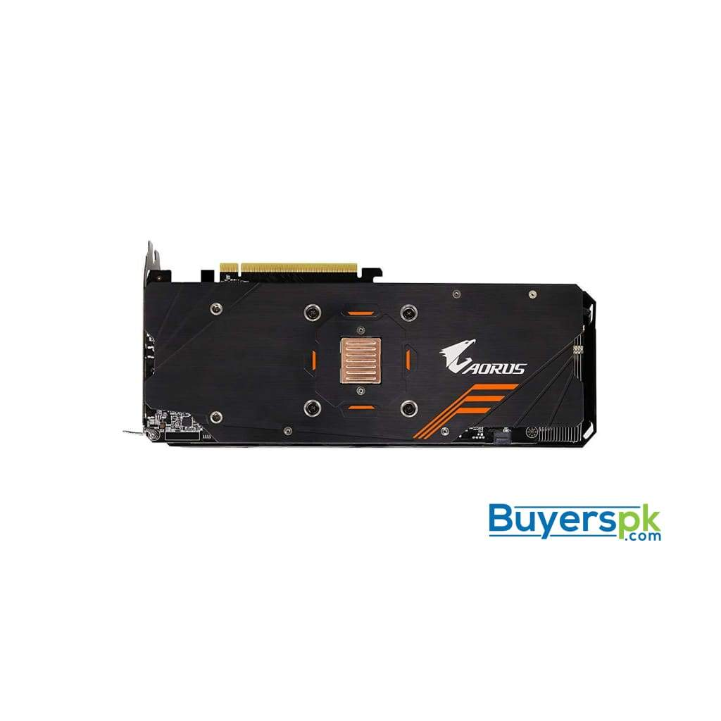 Gigabyte Aorus Geforce Gtx 1060 6g Rev 2.0 Computer Graphics Card - Gv-n1060aorus-6gd