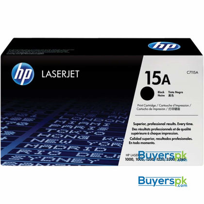 HP 15A Compatible Toner A+ Quality - Toner and Cartridge