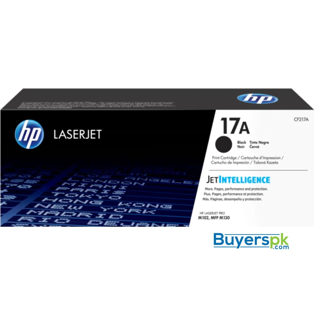 Hp 17a (cf217a) Black Original Toner Cartridge for Hp Laserjet Pro M102 M130