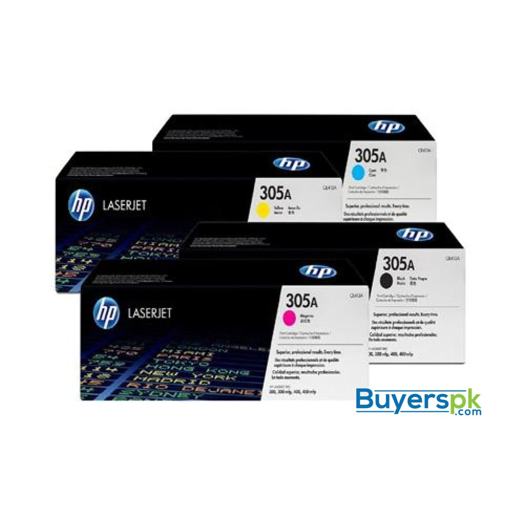 Hp 305a (ce413a) Magenta Original Toner Cartridge for Hp Laserjet Pro 400 Color Mfp M451nw M451dn