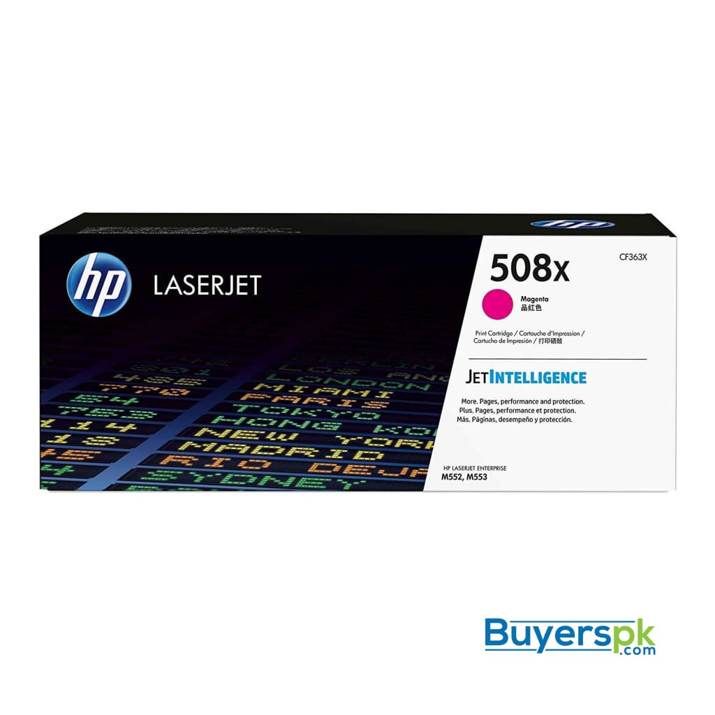 Hp 508a (cf363a) Magenta Original Laserjet Toner Cartridge
