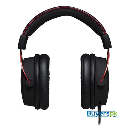HyperX Cloud Alpha Gaming Headset - Dual Chamber Drivers - Award Winning Comfort - Durable Aluminum Frame - Detachable Microphone - Works