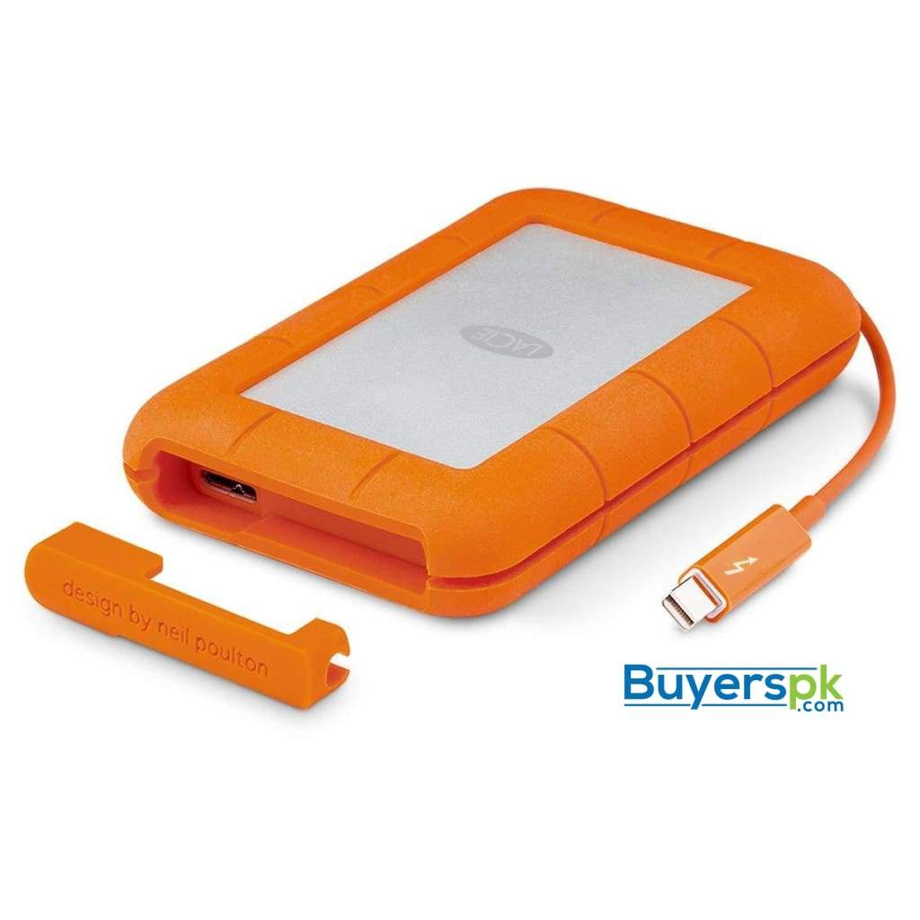 Lacie Rugged 2tb Thunderbolt and Usb 3.0 Portable Hard Drive + 1mo Adobe Cc All Apps (stev2000400) 3