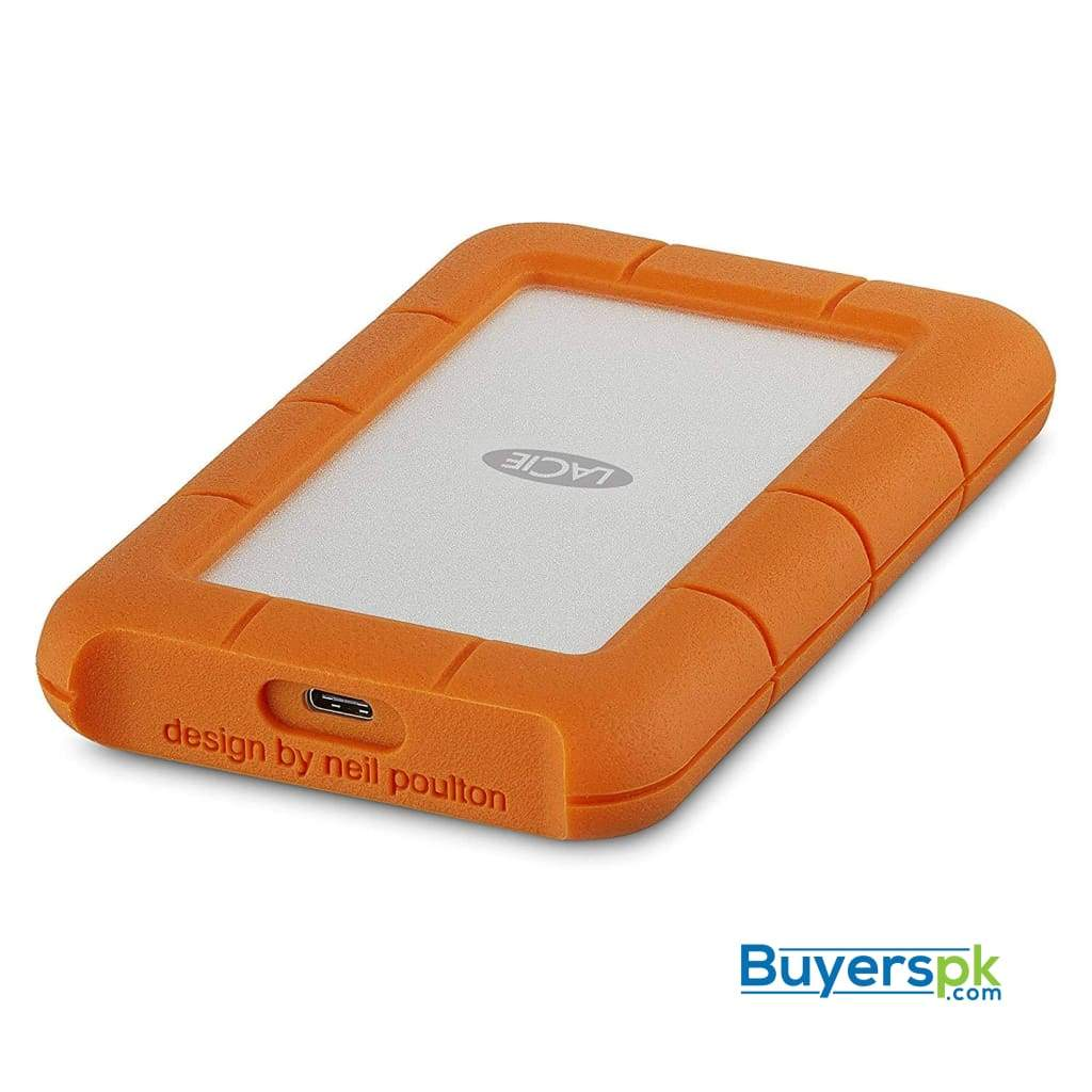 Lacie Rugged 2tb Usb-c and Usb 3.0 Portable Hard Drive + 1mo Adobe Cc All Apps (stfr2000800) 2 Yrs
