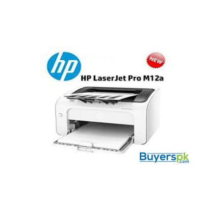 LASERJET PRO M12W PRINTER - Up to 18ppm - Duty Cycle Monthly: 5000 Pages - Printer and Scanner