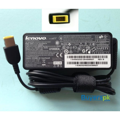 LENOVO SQUARE PIN LAPTOP CHARGER 20V 3.25A 65W (USB) - LAPTOP CHARGER