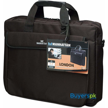 Manhattan 15.6-inch Notebook Briefcase Black (438889) - Bag Price in Pakistan