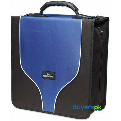 Manhattan Cd Notebook (437370) Nylon Blue+black) - Bag Price in Pakistan