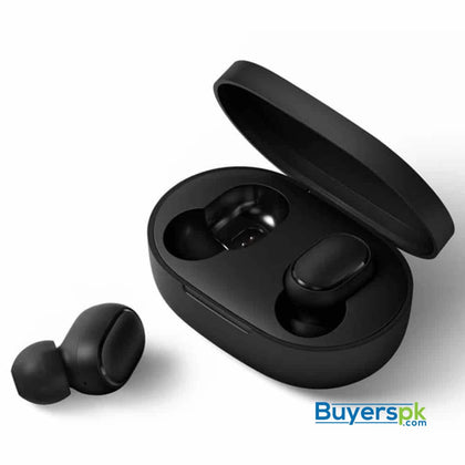 MI REDMI AIRDOTS MINI SIZE BLUETOOTH WITH CHARGING DOCK (ORIGNAL) - headset