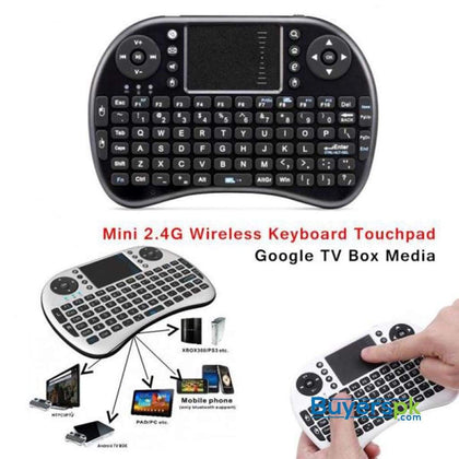 MINI TOUCH PAD RF500 KEYBOARD MOUSE BLUETOOTH FOR SMART PHONE MOBILE ANDROID - Keyboard