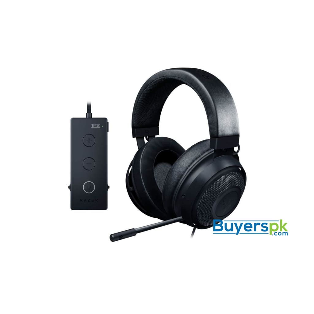 Razer Kraken Tournament Edition - Wired Gaming Headset with Usb Audio Controller - Black