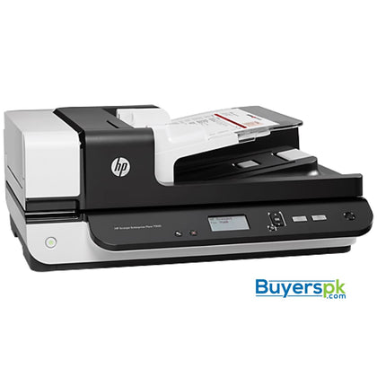 SCANNER HP SJ ENT 7500 FLATBED ADF - Up to 600dpi - ADF Speed Up to 50ppm/100ipm - Duty Cycle Daily: 3000 Pages - ADF 50 Sheets - ADF