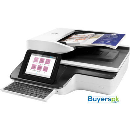 SCANNER HP SJ ENT FLOW N9120 A3 FLATBED - ADF - Up to 600dpi - ADF Speed Up to 50ppm/100ipm - Duty Cycle Daily: 5000 Pages - ADF 200 Sheets