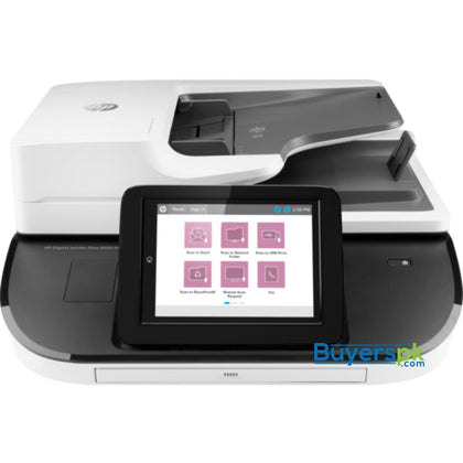SCANNER HP SJ Pro 8500 fN2 FLATBED - ADF - Color - Up to 600 dpi ADF - ADF Speed Up to 100ppm/200ipm - Duty Cycle Daily: 10000 Pages - ADF