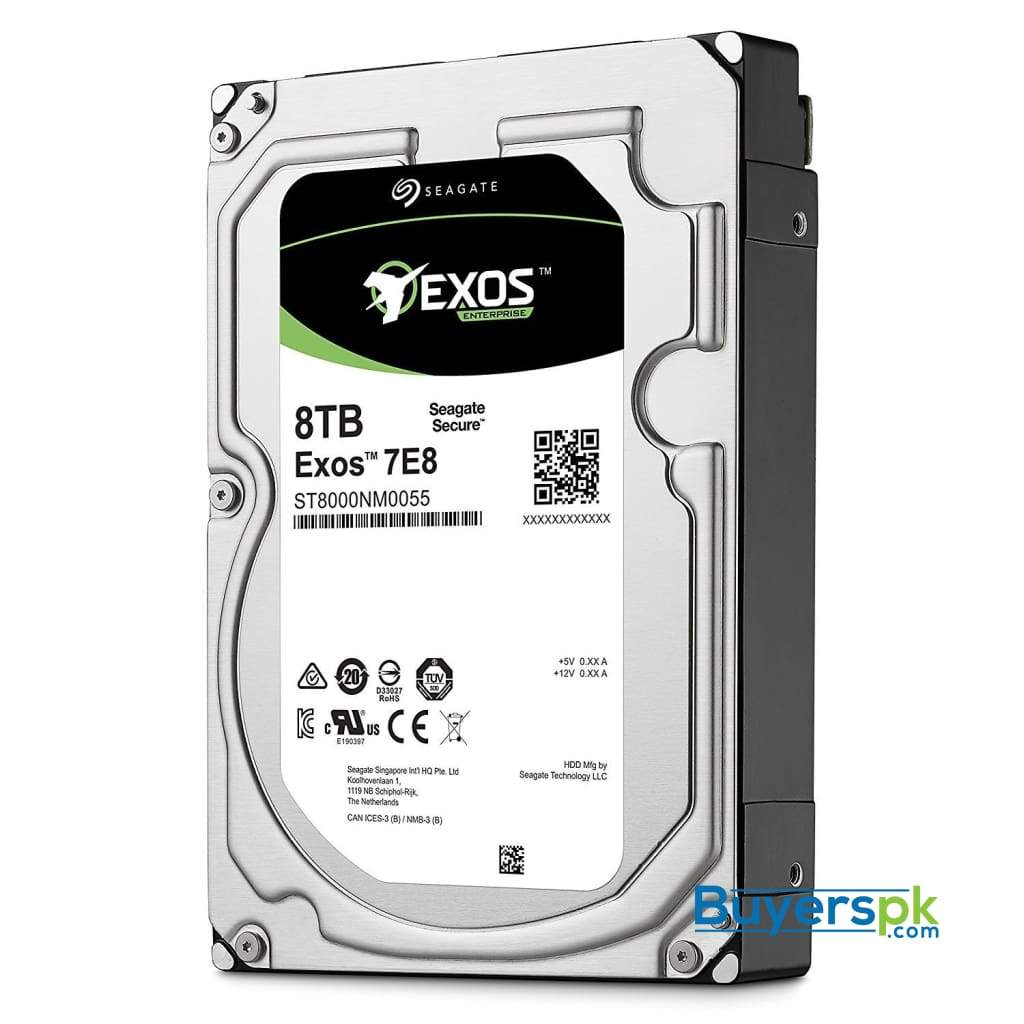 "Seagate St8000nm0055 8tb 7200 Rpm Sata 6gb/s 512e 256mb Cache 3.5"" Internal Enterprise Hard Drive 3"