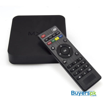 SMART BOX MXQ 4K QUAD CORE 1G+8G - Android TV Box