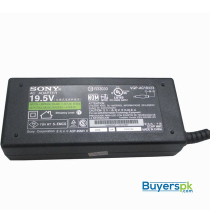 SONY LAPTOP CHARGER 19.5V 4.7A (PIN 6.5X4.4) - LAPTOP CHARGER