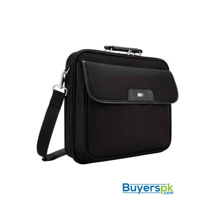 Targus CN01 Clamshell Laptop Bag 15.6 Inches - Black - Bag