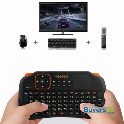 Viboton Touch pad wireless keyboard mouse S1 - Keyboard