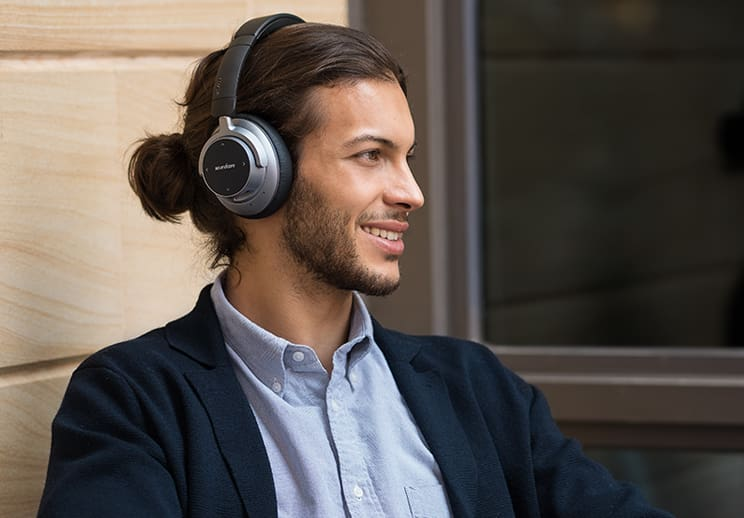 Anker Soundcore Space NC Wireless Noise Canceling Headphones with Touch Control (A3021HF1)