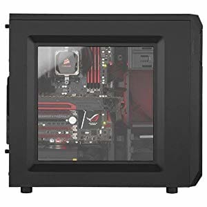 CORSAIR CARBIDE SPEC-01 Mid-Tower Gaming Case Red LED Fan (CC-9011050-WW)