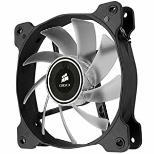 Corsair Air Series AF120 LED Quiet Edition High Airflow Fan Single Pack - White CO-9050015-WLED