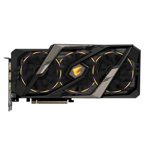 Gigabyte AORUS GeForce RTX 2080 8G Graphics Card 3X Stacked Windforce Fans 8GB 256-Bit GDDR6 GV-N2080AORUS-8GC