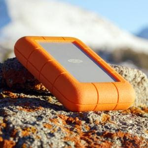 LaCie Rugged 2TB Thunderbolt and USB 3.0 Portable Hard Drive + 1mo Adobe CC All Apps (STEV2000400) 3 Yrs Warranty