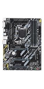 motherboard, gigabyte, aorus, z370, gaming, intel, lga 1151, atx, ultra durable