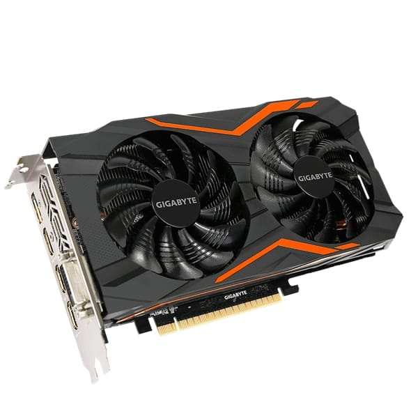 Gigabyte GV-N105TG1 GAMING-4GD GeForce® GTX 1050 Ti G1 Gaming 4GB Video Graphics Card