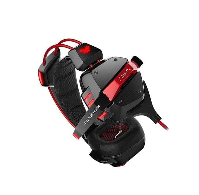 AULA G97 Top 7.1 Surround Gaming Headset Comfortable With MIC Red Light