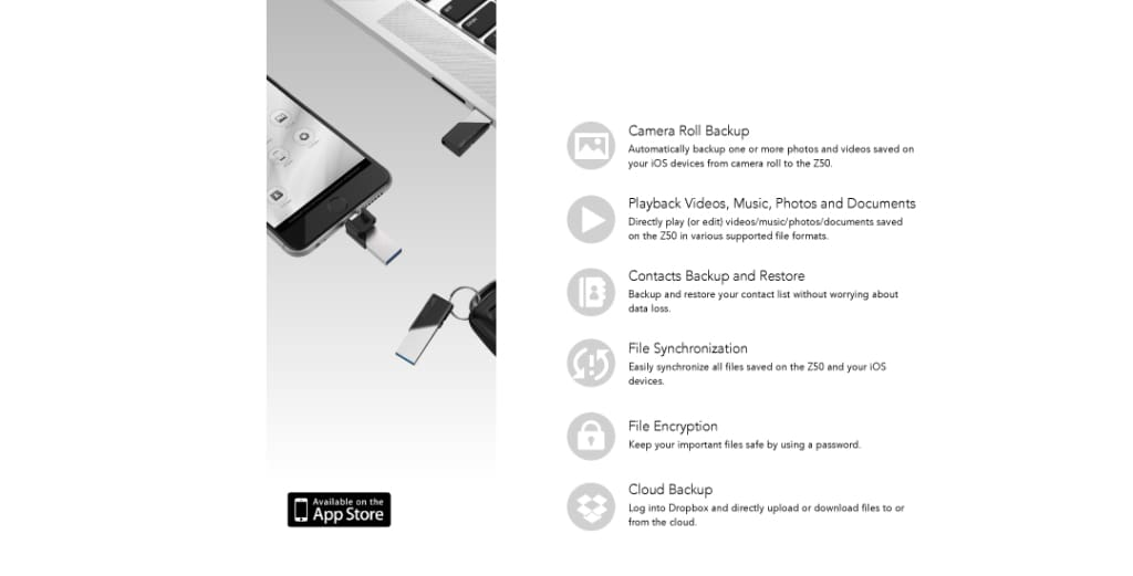 SP xDrive Z50 SP xDrive Explorer – Your File Manager for an Even Better Experience