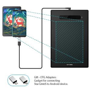 Xp Pen Star G960s Graphics Drawing Tablet