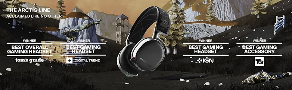 Steelseries Arctis 7 - Lossless Wireless Gaming Headset White (2019 Edition)