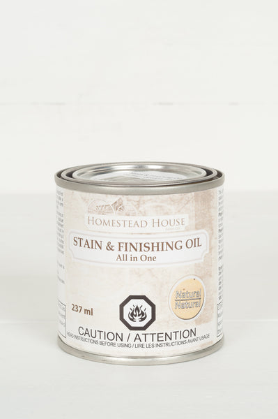 Stain and Finishing Oil