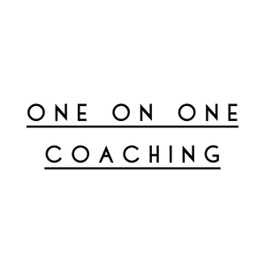 ONE ON ONE PERSONALIZED COACHING